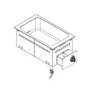Мармит водяной 700 сериимармит водяной встраиваемый TECNOINOX DBM35E0 136035