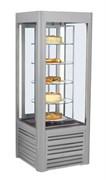 Шкаф кондитерский холодильный ANTILA 02 SCA вращающиеся полки золотистый