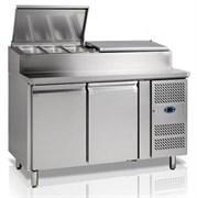 Стол для сэндвичей с охлаждаемым шкафом TEFCOLD SS7200