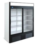 Шкаф холодильный со стеклом капри-1,5ск купе