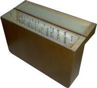 Набор Ареометров общего назначения АОН-1 19 шт. в деревянном кейсе