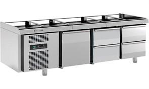 Стол холодильный ANGELO PO 4G6SB4
