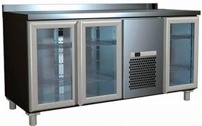 Стол с охлаждаемым шкафом для салатов CARBOMA SL 3GNG