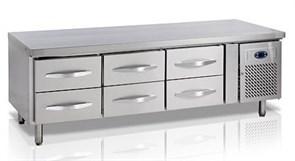 Стол с охлаждаемым шкафом tefcold uc5360 с выдвижными ящиками