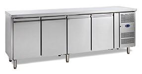 Стол с охлаждаемым шкафом TEFCOLD CK7410/-SP.BACK без борта