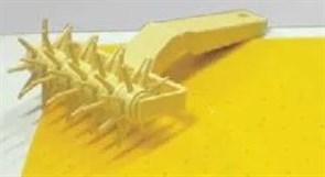 Валик для решетки на тесте MARTELLATO 6см пластик RFP6