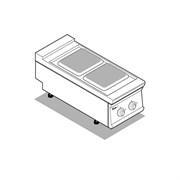 Плита 2 конфорочная 900серии TECNOINOX PC4E9 316001