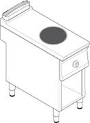 Плита WOK индукционная TECNOINOINOX PIW4FE9 316128