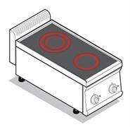 Плита 2 конфорочная TECNOINOX PCC35E7 616001