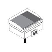 Поверхность жарочная TECNOINOX DFTR70E0 136020 встраиваемая