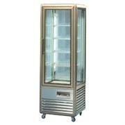 Шкаф кондитерский морозильный TECFRIGO JUNIOR 120GBT серебро
