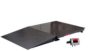 Комплект пандуса, окрашенная сталь, 0,8 м к весам серии Defender
