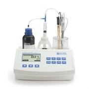 Мини титратор для определения титруемой кислотности и рН в молочных продуктах HI 84529-02