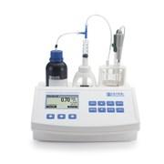Мини титратор для измерения титруемой кислотности и рН в фруктовых соках HI 84532-02
