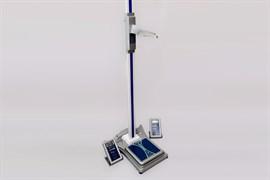 Электронный ростомер РЭП напольный укомплектованный весами ВМЭН