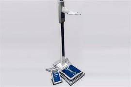 Ростомер РП с весами напольными медицинскими электронными ВМЭН (питание от батареек)
