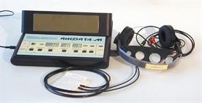 Инфита-М 2 аппарат импульсный низкочастотный физиотерапевтический  биорезонансной хроносветотерапии. 1 000 000 тональностей света, Комплектация :аппаратИнфита-М, блок инфитатрон с БОС, малогабаритный излучающий модуль (ИНФИТА РАДУГА) на кронштейне