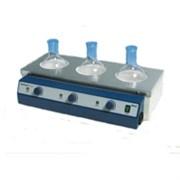 Колбонагреватель 3-х местный, 500мл, аналоговое упр., +450°С