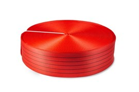Лента текстильная 150 мм 17500 кг (красный)