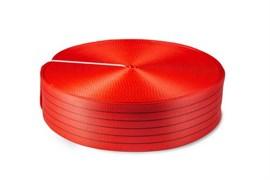 Лента текстильная 125 мм 17500 кг (красный)