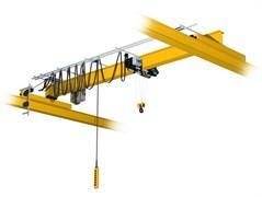 Кран мостовой однобалочный опорный однопролётный г/п 5 т пролет 16,5 м