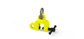Захват струбцинный универсальный ZSU (г/п 3,0 т, лист 0-35мм)