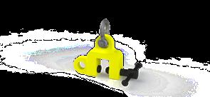 Захват струбцинный универсальный ZSU (г/п 5,0 т, лист 0-40мм)