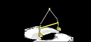 Траверса линейная для сэндвич-панелей TLSP (г/п 0,5 т, 2,5м)