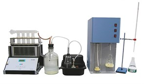 Комплекс по определению массовой доли азота и белка по Кьельдалю «КЕЛЬТРАН» с ручной титровальной установкой