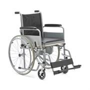 Кресло-коляска для инвалидов FS682 с санитарным оснащением
