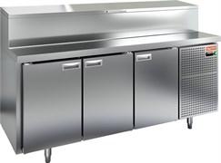 Стол охлаждаемый для пиццы HICOLD PZ1-111/GN (1/3H)