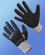 Перчатки противоударные МУЛЬТЕКС® со вспененным нитриловым покрытием
