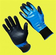 Перчатки МУЛЬТЕКС с полным губчатым нитриловым покрытием