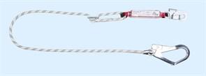 Строп капроновый LB 100 с амортизатором, регулируемый по длине, с карабинами 002 022 серии ВЕРШИНА®