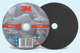 Круг отрезной 3M™ Silver Т41 180мм х 2мм х 22,23 мм (51797)