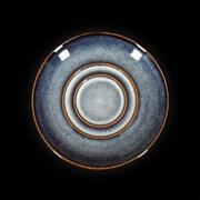 Блюдце «Corone Celeste» 114 мм синий