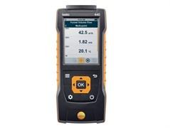 Прибор для измерения скорости воздуха и оценки качества воздуха в помещении со встроенным сенсором дифференциального давления testo 440 dP