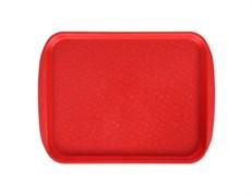 Поднос столовый 330х260 мм, цвет красный