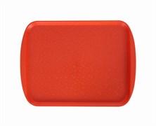 Поднос столовый 330х260 мм оранжевый