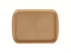 Поднос столовый 330х260 мм золотой