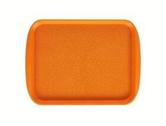 Поднос столовый 330х260 мм светло-оранжевый
