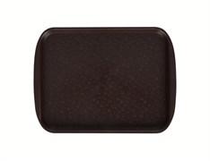 Поднос столовый 330х260 мм шоколадный