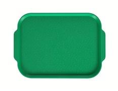 Поднос столовый 450х355 мм с ручками светло-зеленый