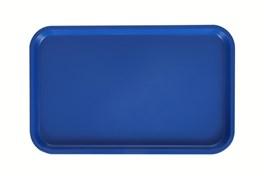 Поднос столовый 530х330 мм синий