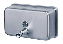 Дозатор для мыла из нержавеющей стали, матовый, 1,2 литра Ksitex SD-1200M