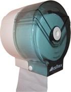 Пластиковый зеленый держатель туалетной бумаги Ksitex ТН-6801G