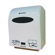 Белый держатель рулонных полотенец Ksitex А1-15А