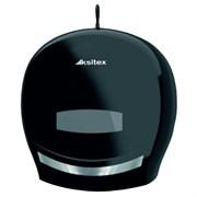 Черный пластиковый держатель туалетной бумаги Ksitex ТН-8001В