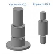 Формы для изготовления контрольных образцов из минеральных порошков ФМП