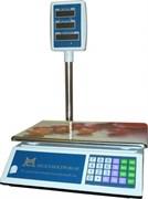 Весы торговые со стойкой ВР 4900-15-5СДБ-01М